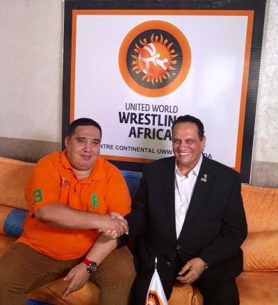 AASC President General Ahmed Nasser visited the Moroccan African International Wrestling Center in Morocco
