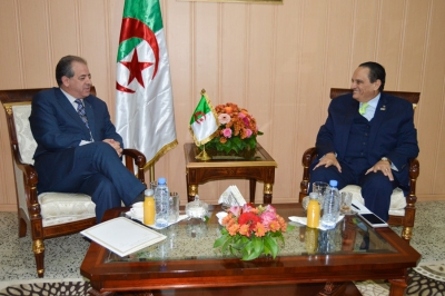 Ucsa President Meet with HE Minister of Sport and youth in Algeria