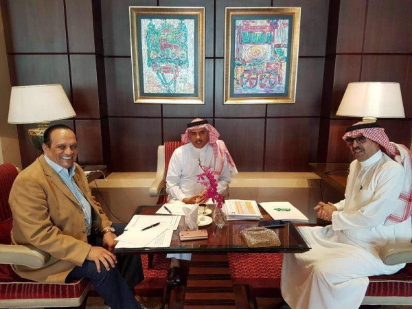 AASC President General met with Union of National Arab Olympic Committees