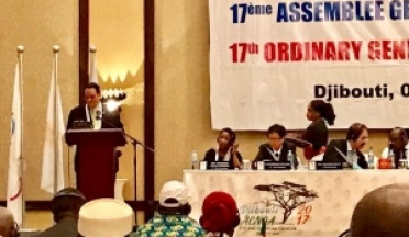 AASC President Presentation at ANOCA AGM in Djibouti