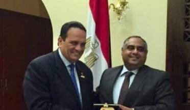 AASC President met with H.E. Ambassador Ahmed Adel Egypt's Ambassador in Djibouti