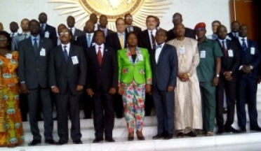Le président de l'UCSA a assisté aux réunions des ministres africains des sports et des jeunes à l'Union africaine, en mai 2016
