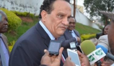 Le président visite au siège du l'UCSA à Yaoundé, Cameroun