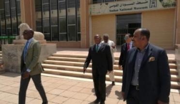 Les Présidents de l'UCSA et l'ANOCA au Soudan.