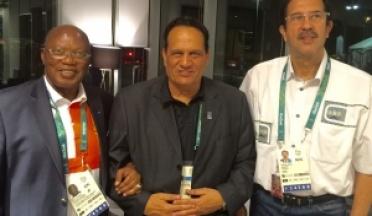 les réunions du président d'UCSA au Jeux olympiques à RIO, Août 2016