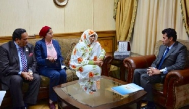 Minister of Youth and Sports receives President of the African Union Social Commission and President of the Union of African Sports Confederations (UCSA)
