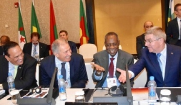 AASC President General Ahmed Nasser attended ANOCA AGM in Djibouti Mai 2017